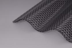 Lichtplatten 3,0 mm Acrylglas Sinusprofil 76/18 graphit