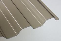 Lichtplatten 1,0 mm PVC Trapezprofil 70/18
