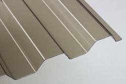 Lichtplatten 1,4 mm PVC Trapezprofil 70/18